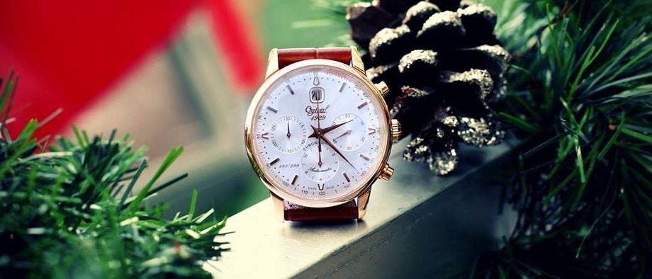 Đồng hồ hàng hiệu nam Ogival Skeleton – tự tin thể hiện đẳng cấp