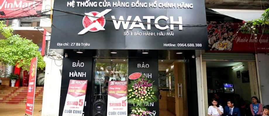 Shop đồng hồ hiệu Xwatch- Vì sao bạn nên mua tại đây?