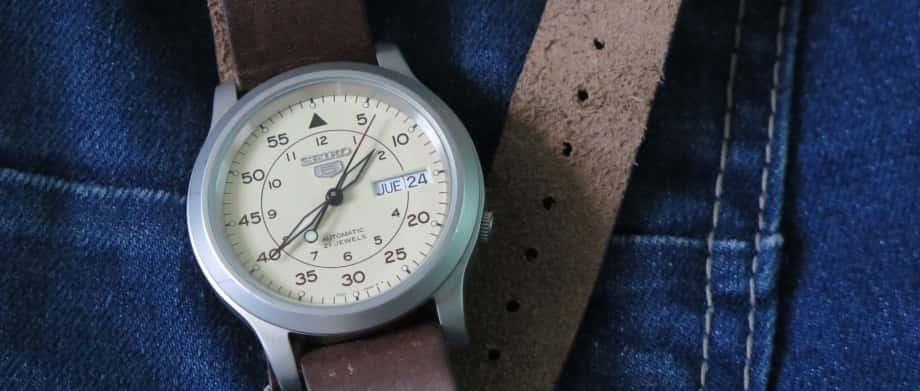 5 bước lựa chọn đồng hồ Seiko dây da tốt nhất