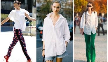 10 kiểu áo sơ mi trắng nữ HOT nhất hiện nay