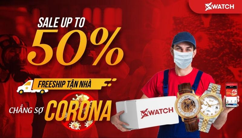 HOT! SALE UP TO 50% - FREESHIP TẬN NHÀ, CHẲNG SỢ CORONA!