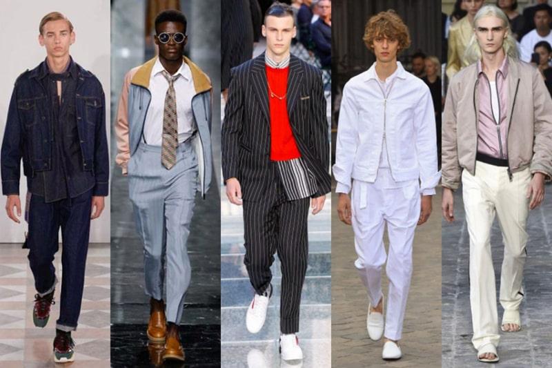 Tổng hợp xu hướng thời trang nam 2020
