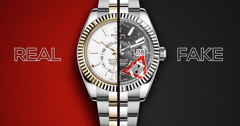 Cách phân biệt đồng hồ nam hàng hiệu chính hãng và đồng hồ fake CỰC CHUẨN