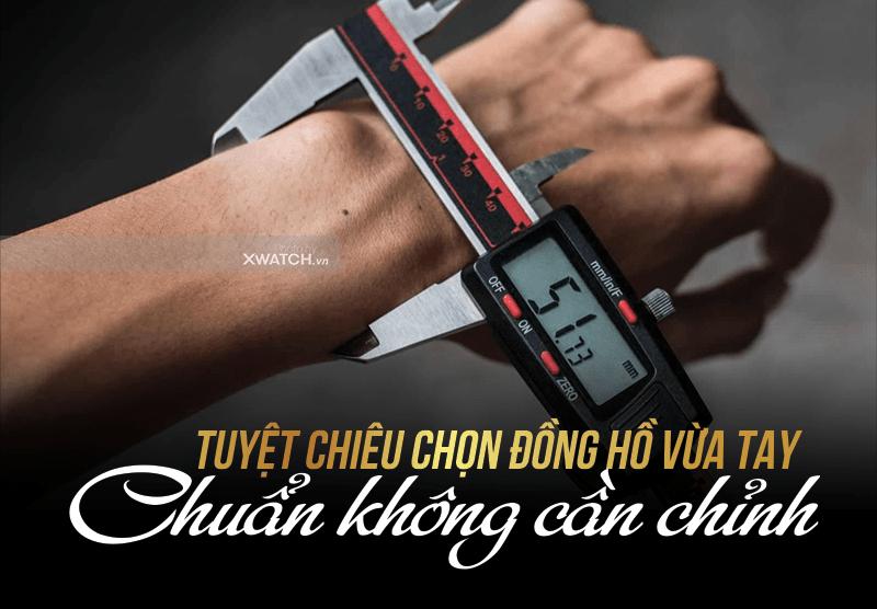 Cách đeo đồng hồ vừa tay và phù hợp