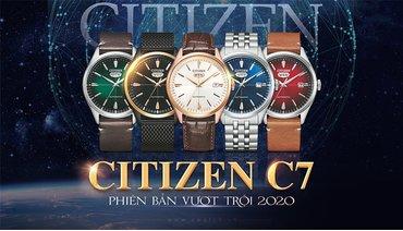 """CITIZEN C7: MẪU ĐỒNG HỒ """"BOM TẤN"""" CỦA NĂM 2020!"""
