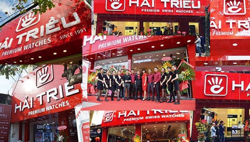 Giới thiệu cửa hàng đồng hồ Hải Triều
