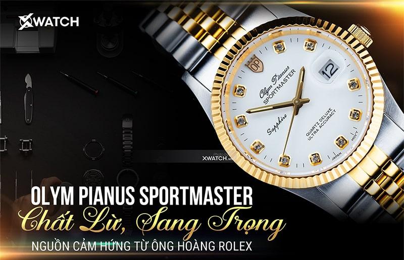 Đồng hồ Olym Pianus Sportmaster có gì đặc biệt?