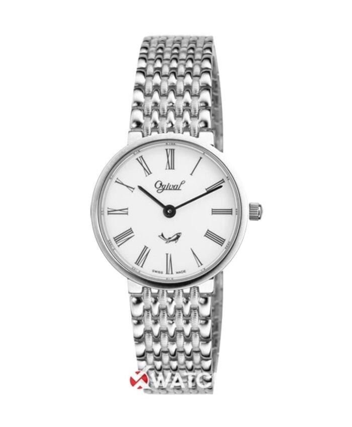 Đồng hồ Ogival OG385-031LW-T-LM