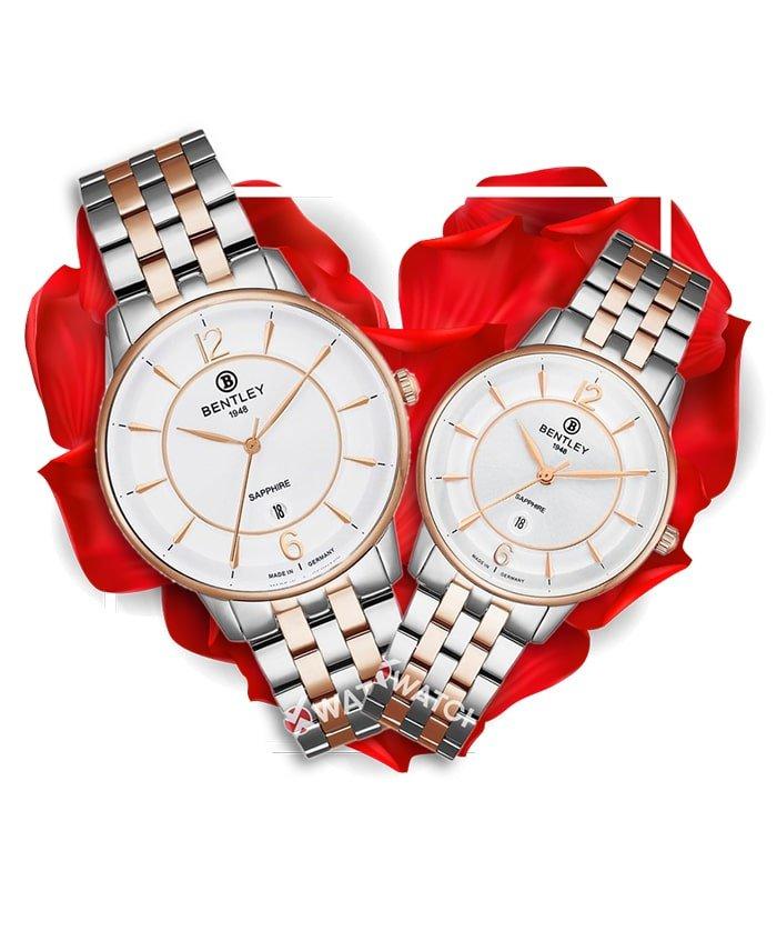Đồng hồ đôi Bentley BL1853-10MTCA-R-MSR-T + BL1853-10LTCA-R-LSR-T