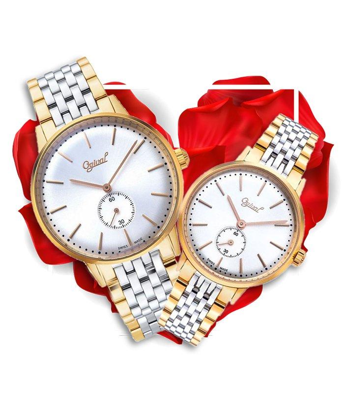 Đồng hồ đôi Ogival OG1930MSR-T + OG1930LSR-T