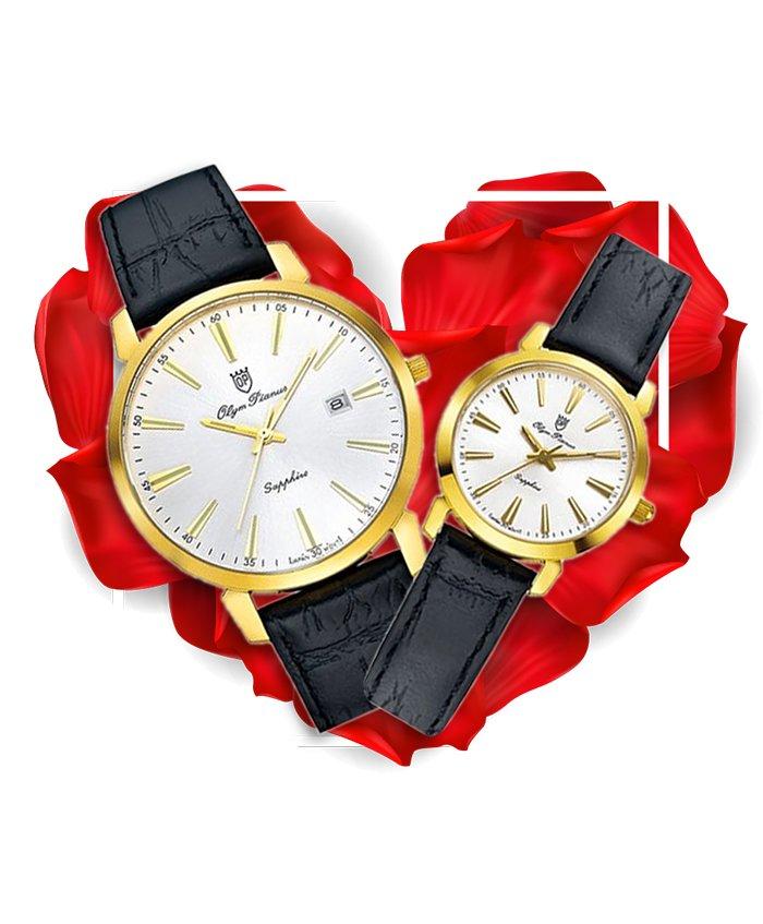 Đồng hồ đôi OP OP130-03MK-GL-T + OP130-03LK-GL-T