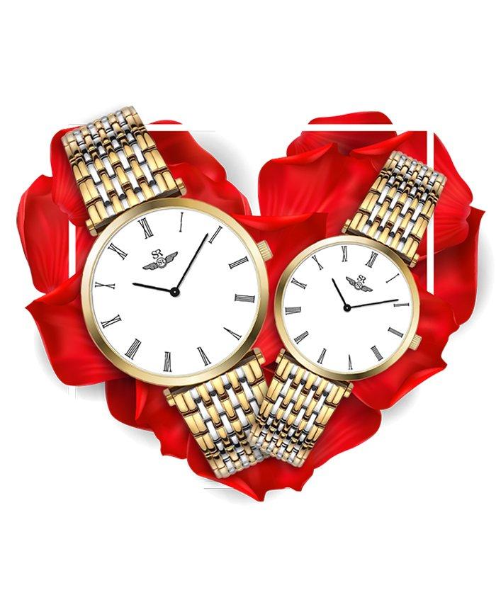 Đồng hồ đôi SRWatch SG8702.1202 + SL8702.1202