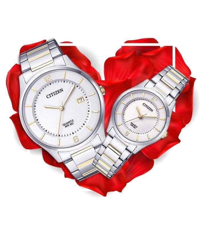 Đồng hồ đôi Citizen BD0048-80A + ER0201-72A