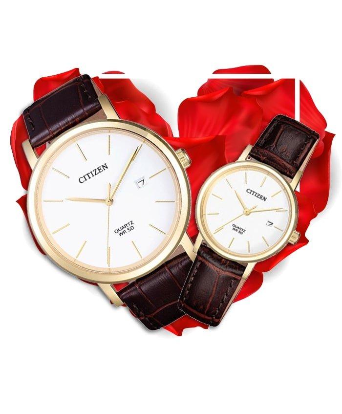 Đồng hồ đôi Citizen BI5072-01A + EU6092-08A