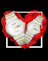 Đồng hồ đôi Citizen BM9014-82A + EW3254-87A 0