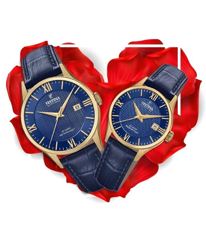 Đồng hồ đôi Festina F20010/3 + F20011/3
