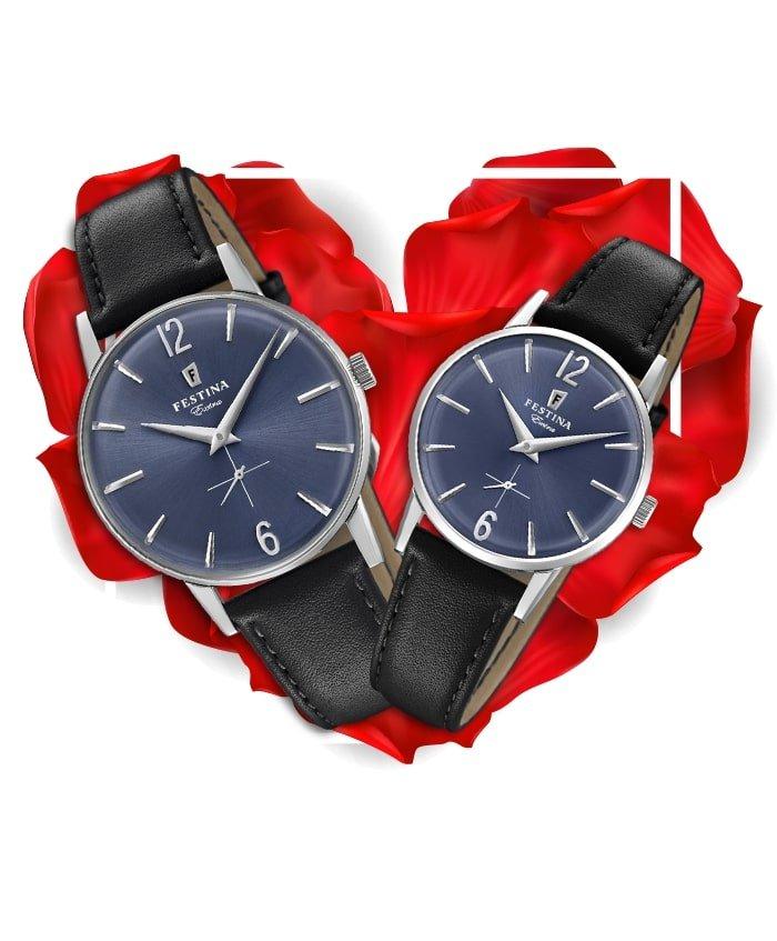 Đồng hồ đôi Festina F20248/3 + F20254/3