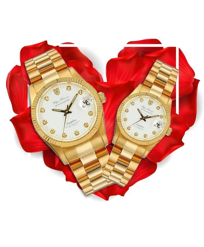 Đồng hồ đôi OP OP89322K-T + OP68322K-T