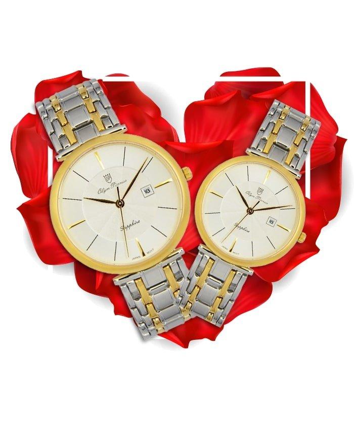 Đồng hồ đôi OP OP56571MSK-T + OP56571LSK-T