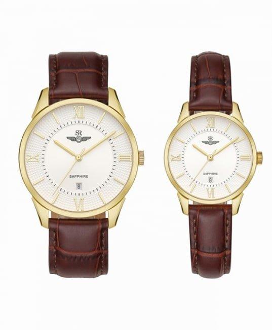 Đồng hồ đôi SRWatch SRCouple80050.4602CF