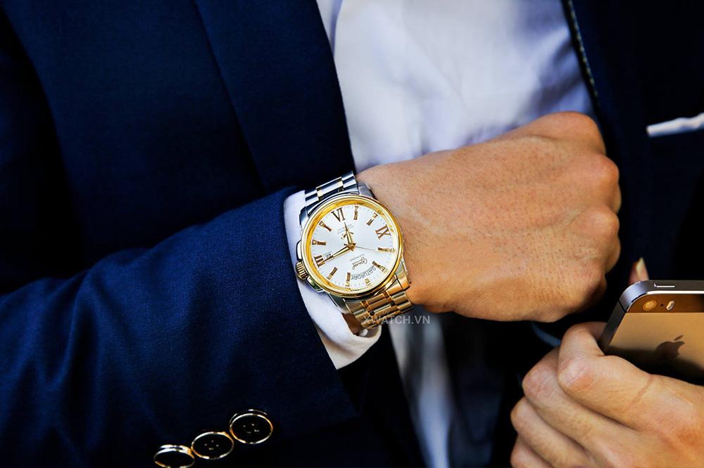 Đồng hồ nam Ogival OG3360AJMSK-T