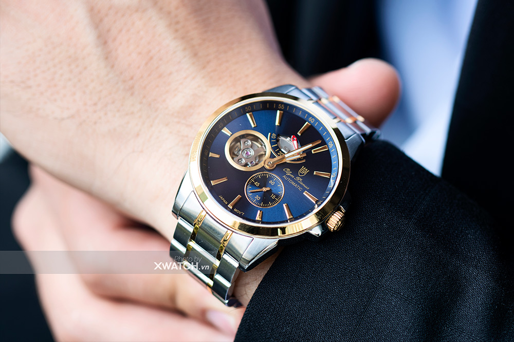 Đồng hồ nam OP9908-88AGSK-X