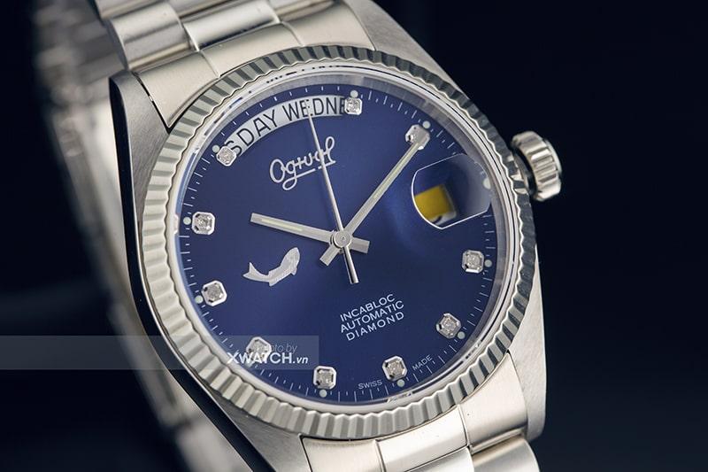 Đồng hồ Ogival Day-Date OG30328MS-X