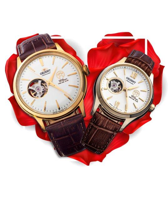 Đồng hồ đôi Orient RA-AG0430S00B + RA-AG0726S00B