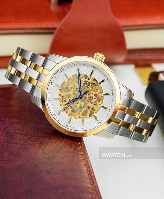 Đồng hồ Olym Pianus OP990-15AMSK-T