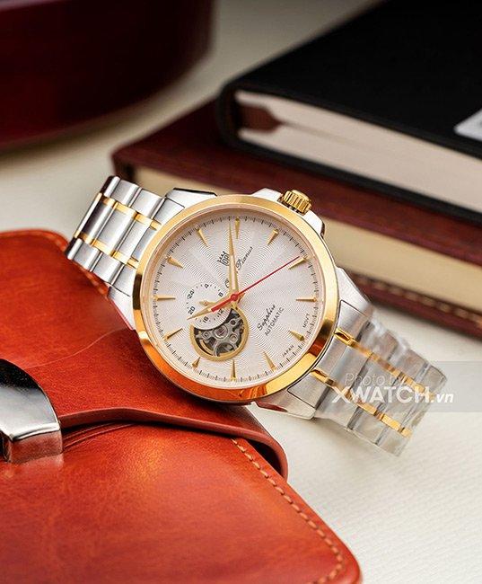 Đồng hồ Olym Pianus OP990-083AMSK-T