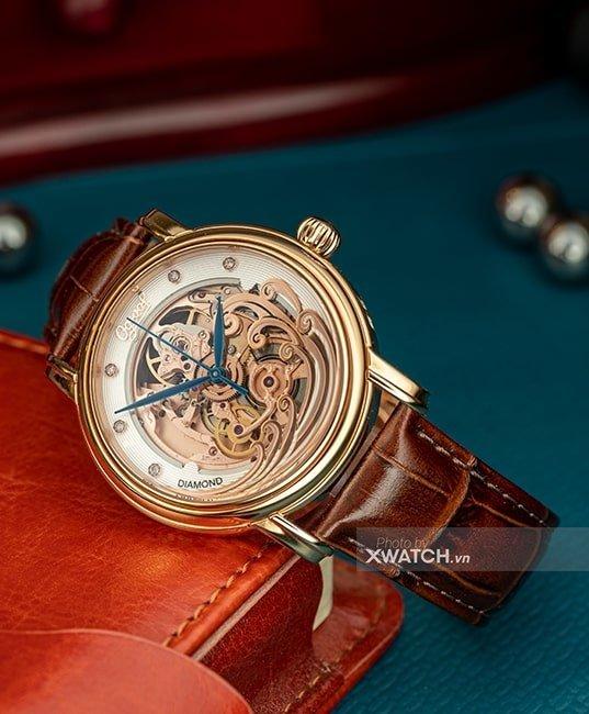 Đồng hồ Ogival OG358.63AGR-GL