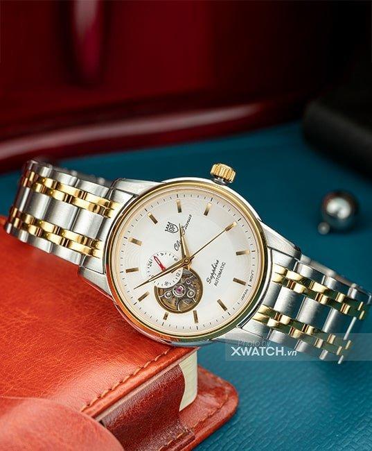 Đồng hồ Olym Pianus OP990-163AMSK-T