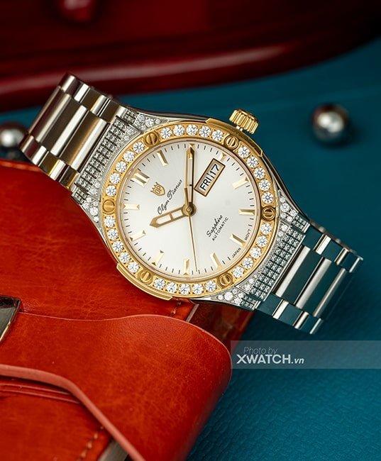 Đồng hồ Olym Pianus OP990-45ADDGSK-T