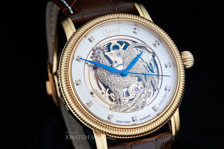 Đồng hồ Ogival hình con gà