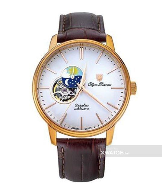 Đồng hồ Olym Pianus OP990-389AMR-GL-T