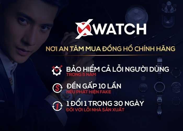 Nhận đồng hồ từ Xwatch