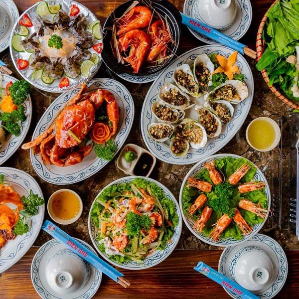 Món ăn hải sản Kiên Ghẹ