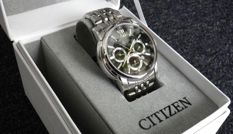 Đồng hồ Citizen kính Sapphire
