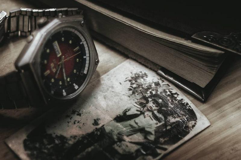 Đồng hồ Orient SK mặt lửa 1970