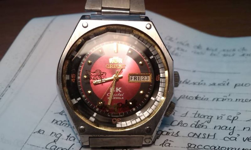 Đồng hồ Orient SK quân đội