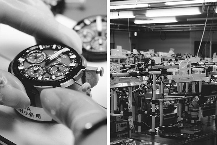 Nhà máy sản xuất đồng hồ Citizen
