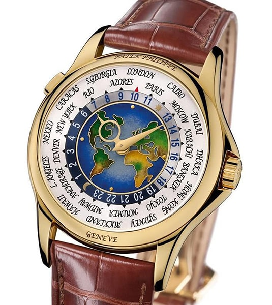 Đồng hồ Patek Philippe Platinum World Time