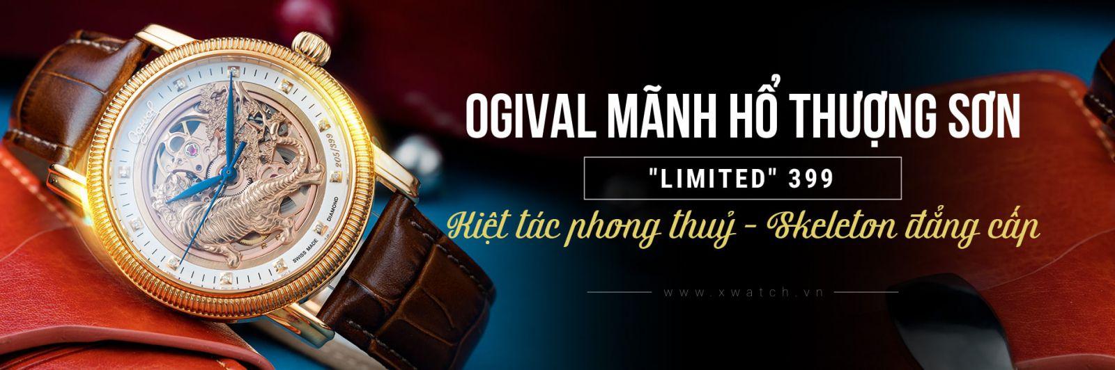 Ogival Mãnh Hổ Thượng Sơn OG358.53A42GR-GL