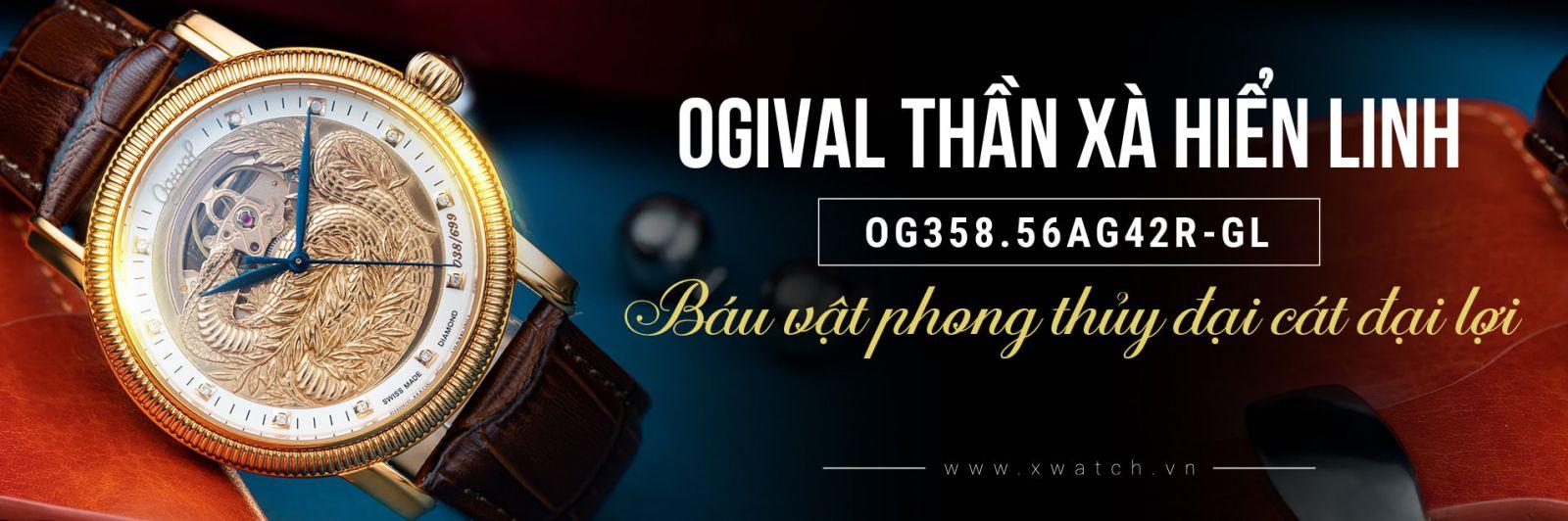 Ogival Thần Xà Dũng Mãnh OG358.56AG42R-GL